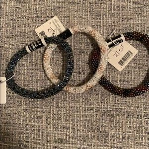 LILY and LAURA set of 3 bracelets NEW